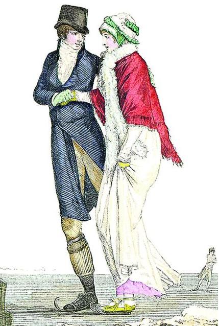 1800 г. Так выглядели коньки в эпоху Наполеона