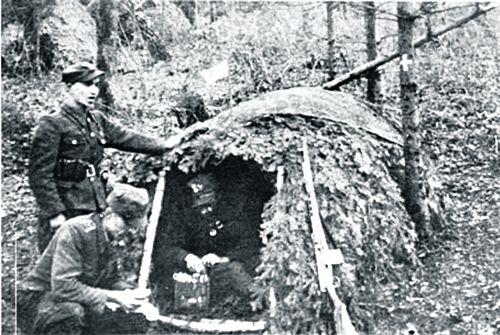 Санитарная палатка УПА. Следующий шаг — массовый уход в схрон. Этот «маневр» совершит вся Армия