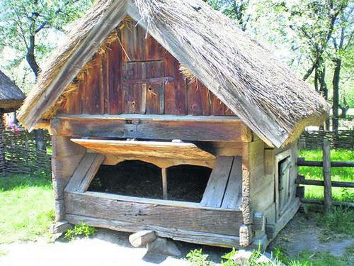 Саж — свиной домик. Тут в старом украинском селесидели свиньи. Название возникло от слова «сажать»