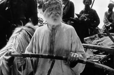 Кадр из фильма «Звенигора». Бывший петлюровец Александр Довженко снял его, перейдя на сторону советской власти. Для Довженко революция ассоциировалась с гайдаматчиной.