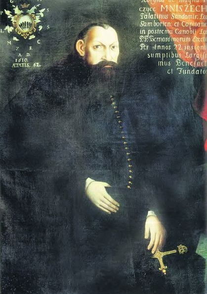 Ежи Мнишек. Сандомирский воевода, поверивший, что Лжедимитрий действительно сын Ивана Грозного