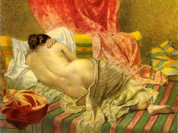 Писано с натуры. В юности у Шевченка хватало легких романов.