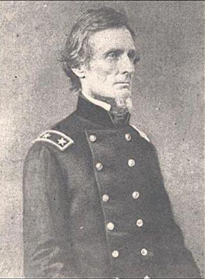 Президент Конфедерации Дэвис твердо стоял за свободу Юга