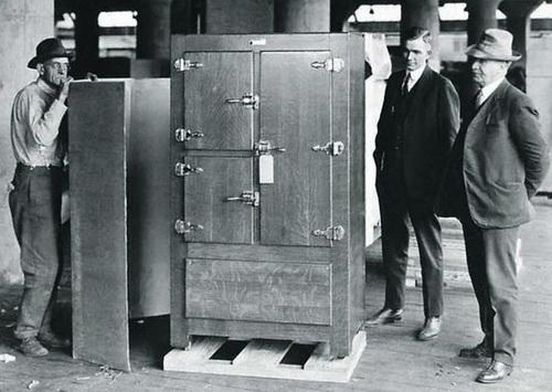 Американское изобретение. Холодильный шкаф для трупов животных