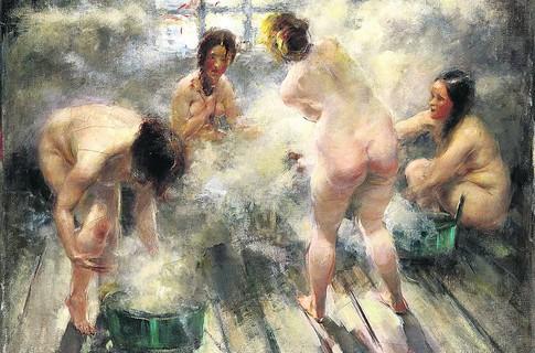 Как моются бабы в простых банях фото 396-531