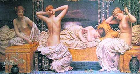 Римские бани. Были местом, где парились, любили и убивали политических соперников