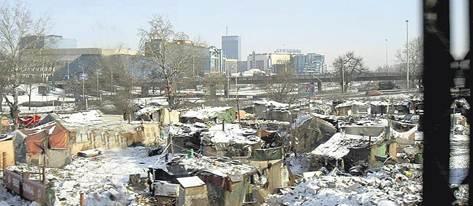 Вид Белграда. Родной любому бывшему советскому человеку пейзаж — все словно дома!