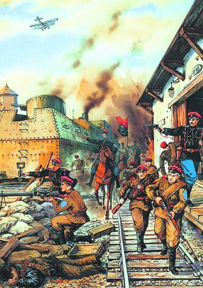 2-й Корниловский полк. Был сформирован из пленныхмахновцев