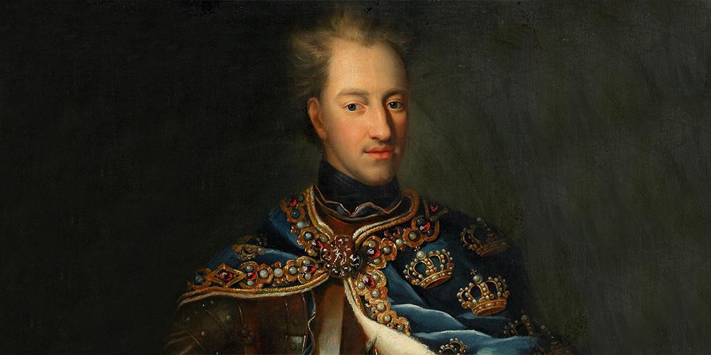«Лев Севера». Король Карл XII в парадном облачении