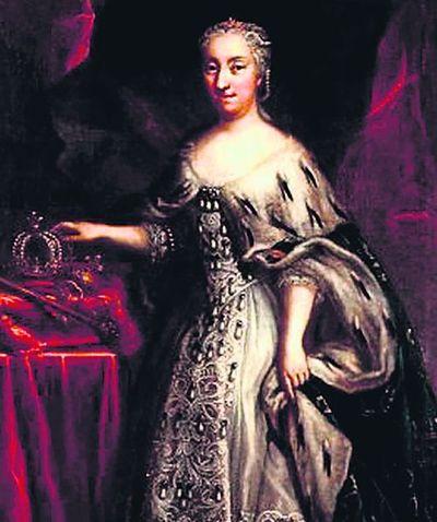Сестра Карла XII. Ульрика Элеонора унаследовала королевство бездетного брата и его украинские долги