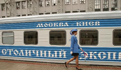 Картинки по запросу поезд киев москва фото