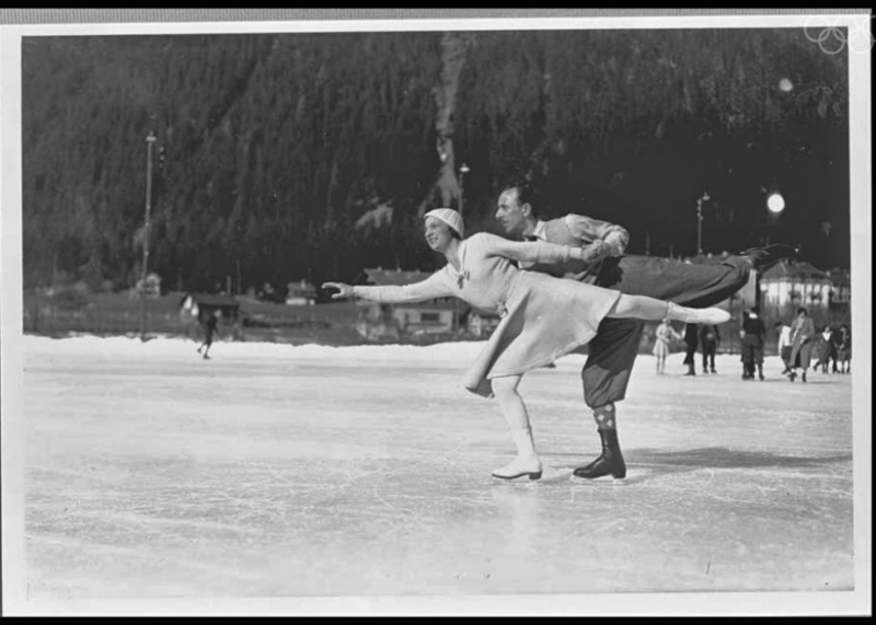 The-Athletes-of-the-First-Winter-Olympics-in-1924-Andre-Joly-and-Pierre-Brunet-won-bronze-in-pairs-figure-skating-in-Chamonix-before-taking-gold-in-1928-and-1932.-The-French-couple-got-married-in-1929.jpg